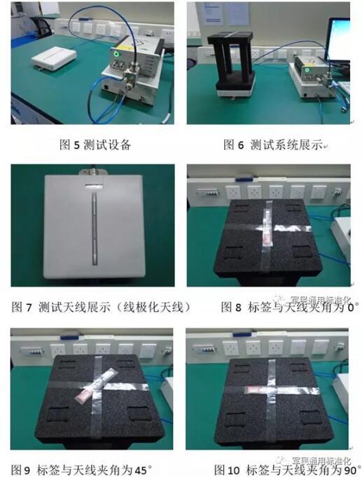 RFID标签测试影响因素分析