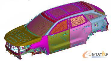 TB车身与声腔耦合模型