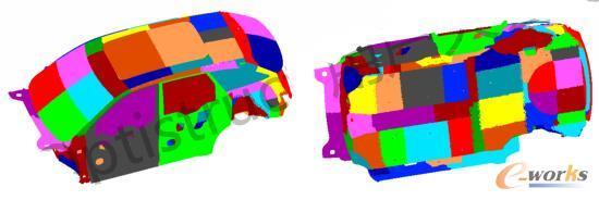 与声腔耦合结构的板块划分