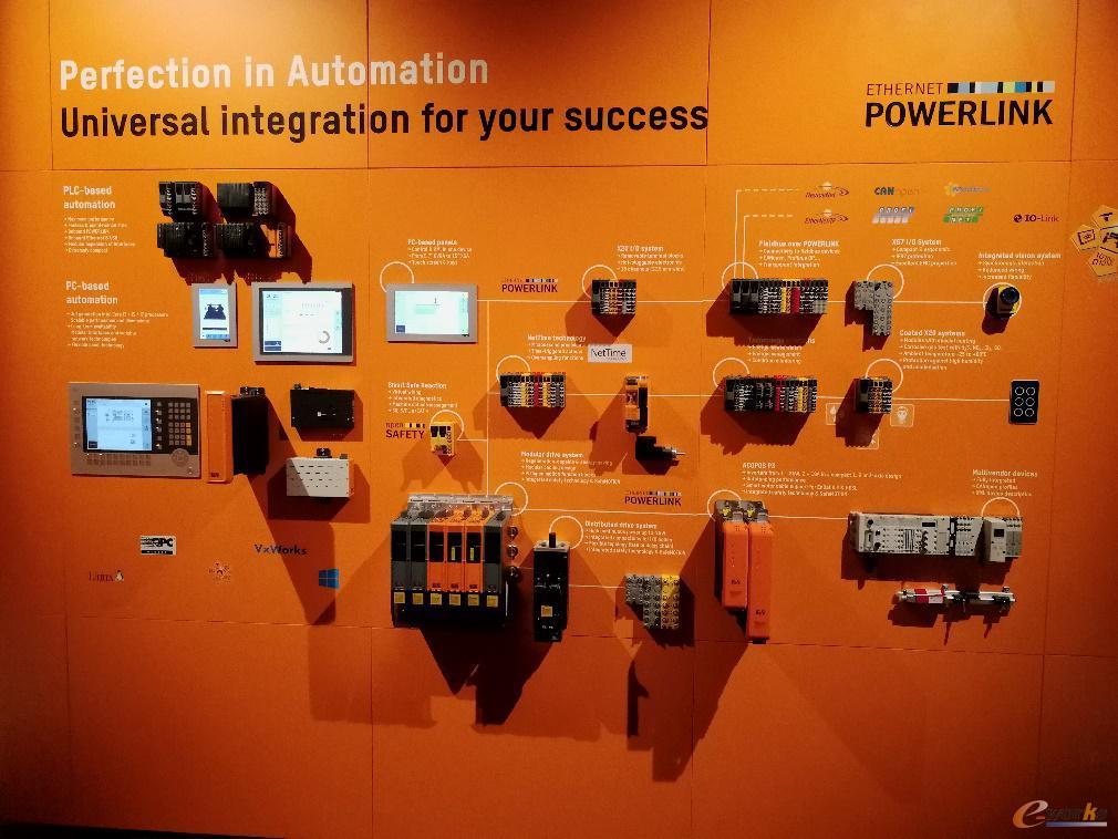 贝加莱自动化部分产品展示