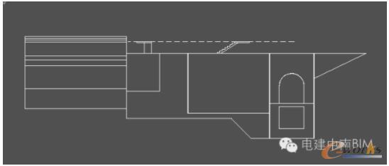 琼中项目土建3机左视切图