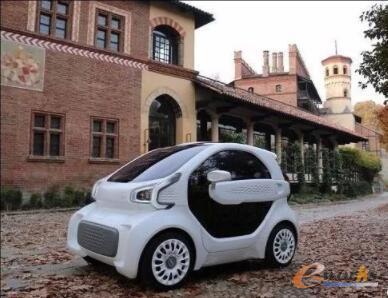 """用3D打印方式制造的国产电动车""""XEV"""""""