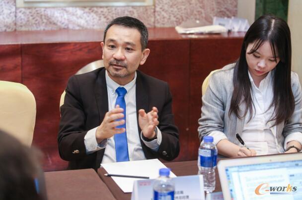 甲骨文公司副总裁及中国区应用软件总经理潘杰君