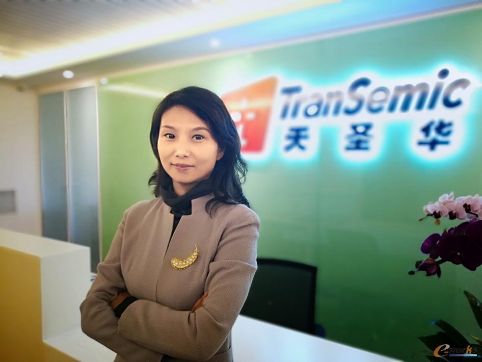 北京天圣华信息技术有限责任公司总经理 谢春晓女士
