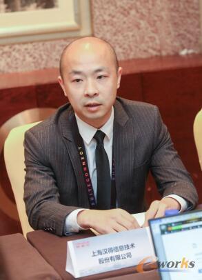 汉得信息技术股份有限公司高级副总裁 黄耿