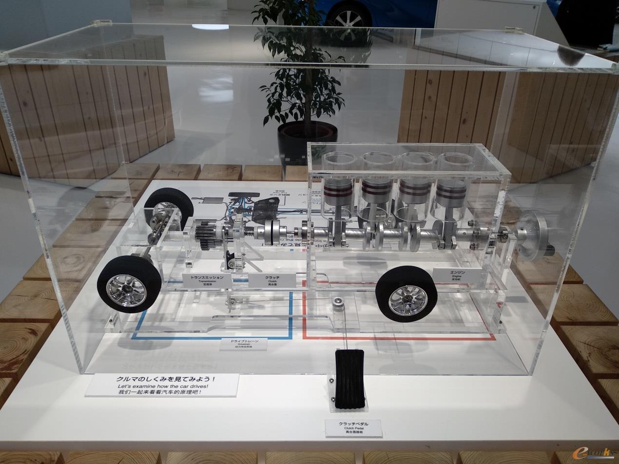 汽车离合器踏板模型
