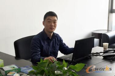 图2 安徽江南化工流程IT部部长韦競