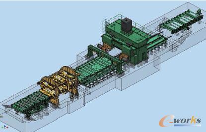 图1 数控龙门高速铸锭复合加工生产线图