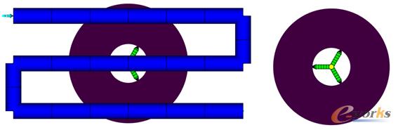图1 测试模型
