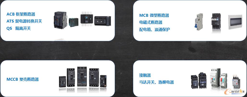 上海良信电器的产品示例