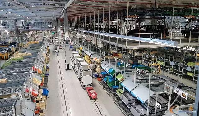 标致雪铁龙工厂装配车间的集中拣货和RGV应用