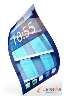可弯曲、更轻薄的智能手机与笔记本电脑的屏幕