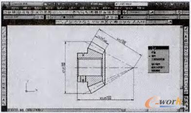 基于CAD软件的机械平面设计