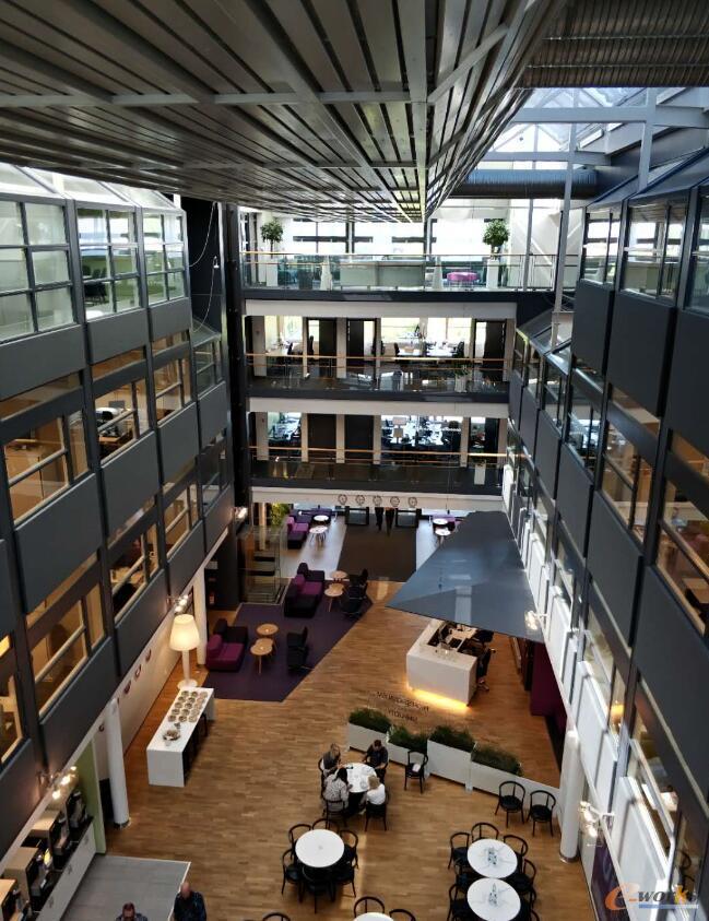 IFS总部大楼内景