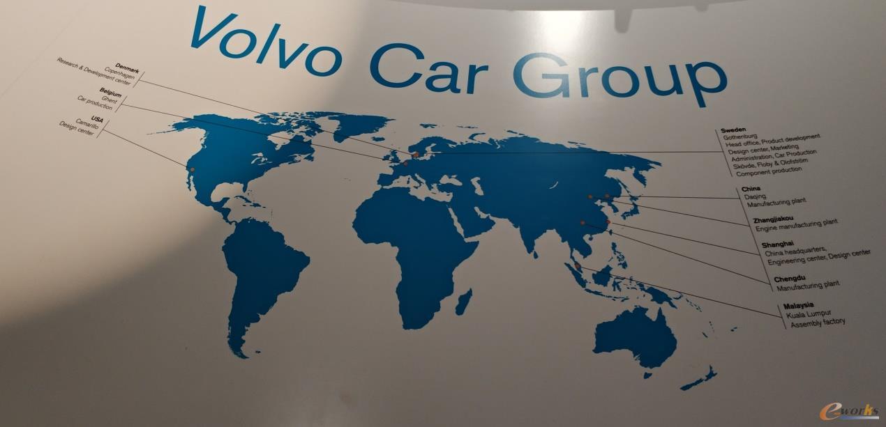 沃尔沃汽车的全球布局