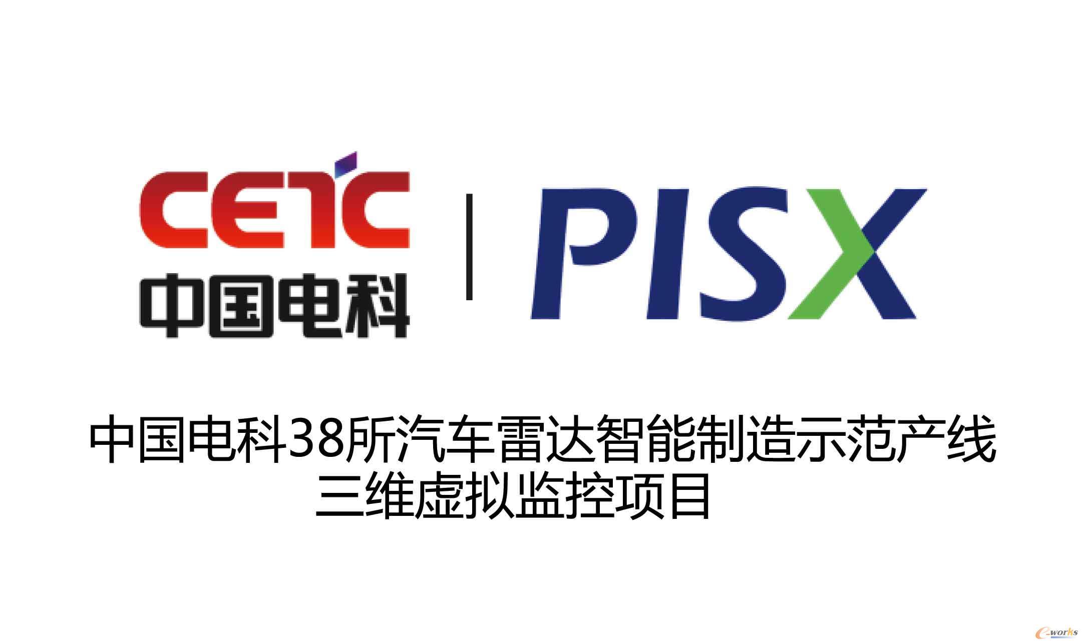 中国电科38所汽车雷达智能制造示范线虚拟监控项目