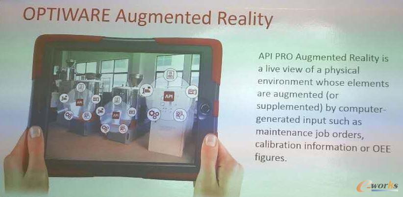 Optiware通过AR技术来实现维护工单、调教和OEE数据的可视化