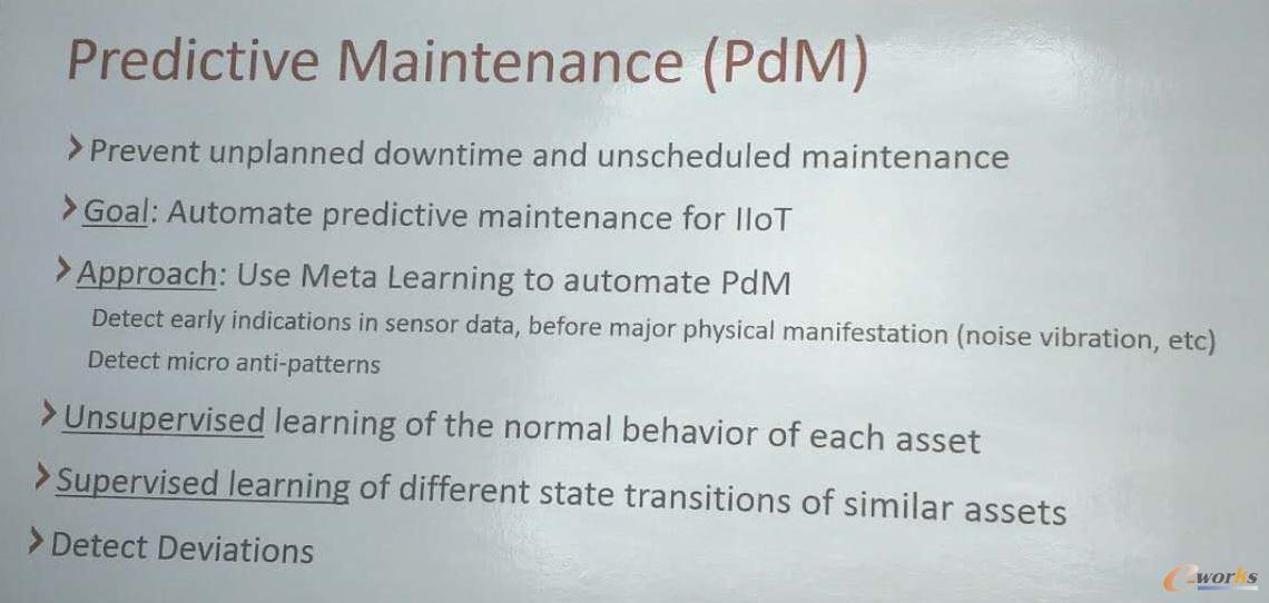 Optiware公司对预测性维护的理解