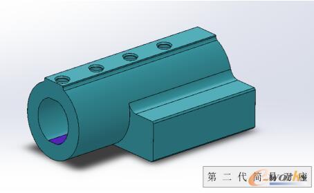 第二代改进型简易内孔刀座