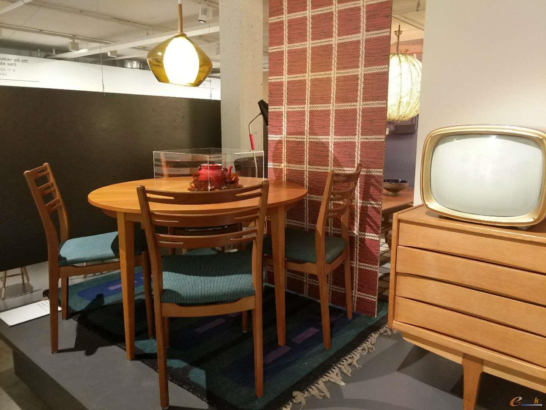 欧洲五六十年代的家具