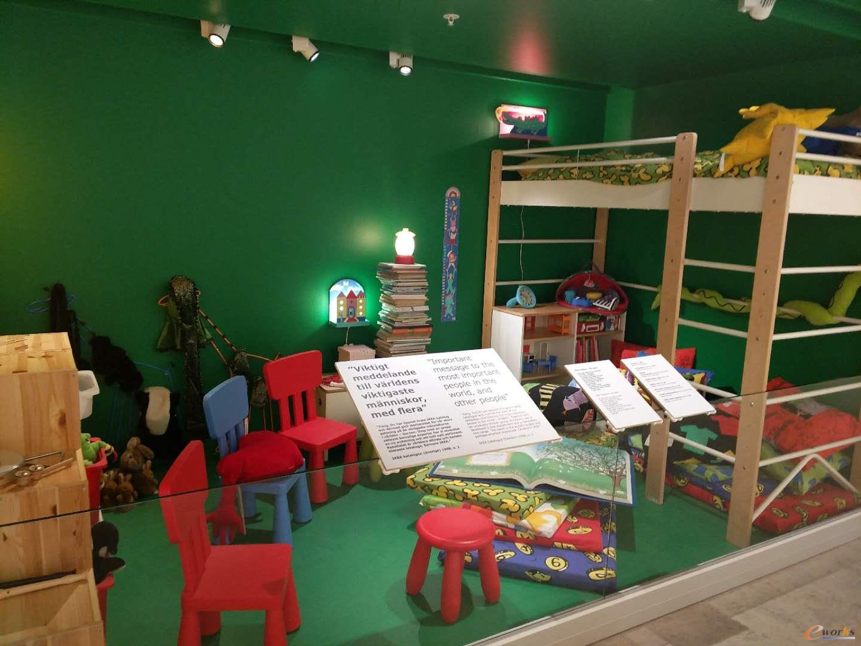 充满现代气息的儿童房