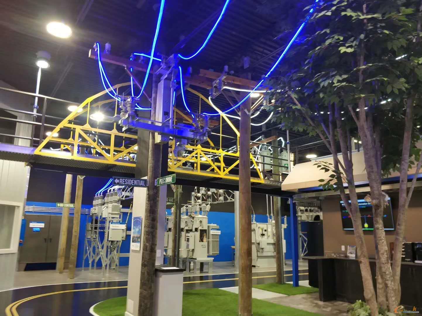 伊顿电气能源系统体验中心相关应用场景展示(二)