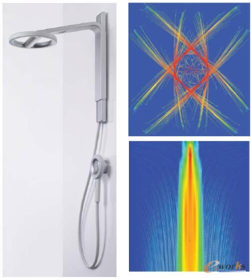 使用ANSYS软件仿真更大的水滴喷洒面积