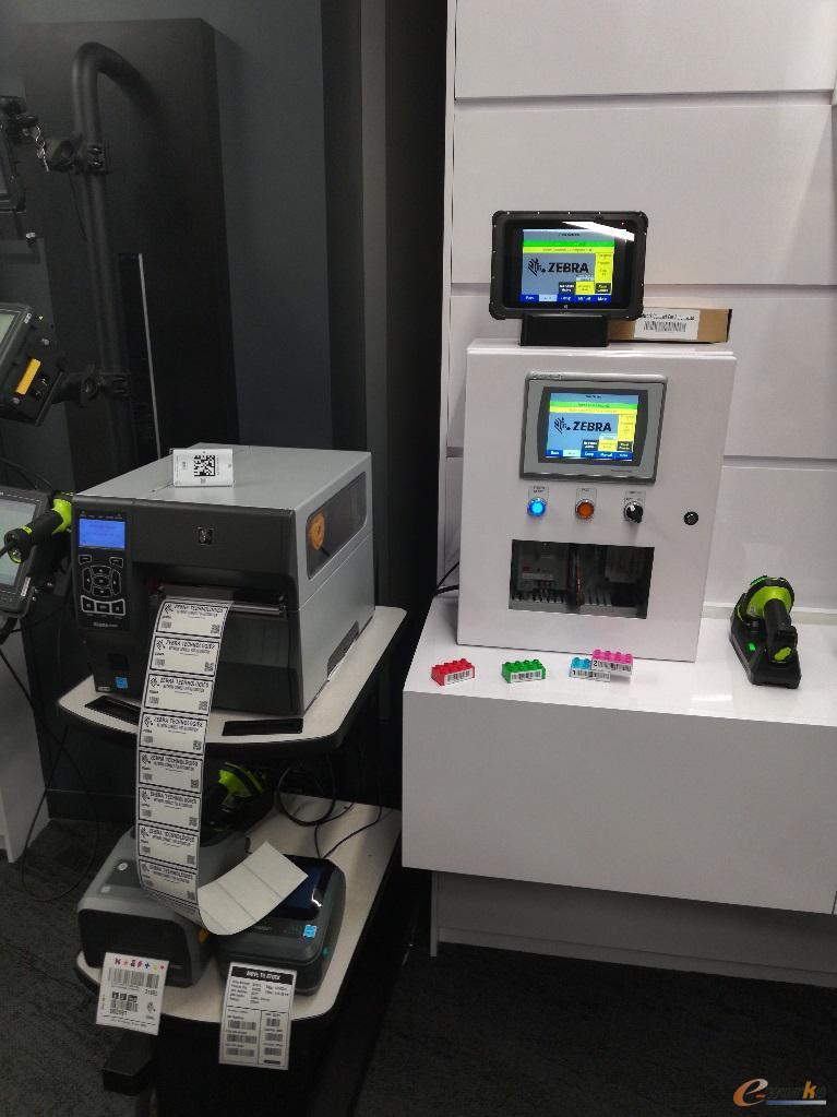 斑马技术的系列工业打印机
