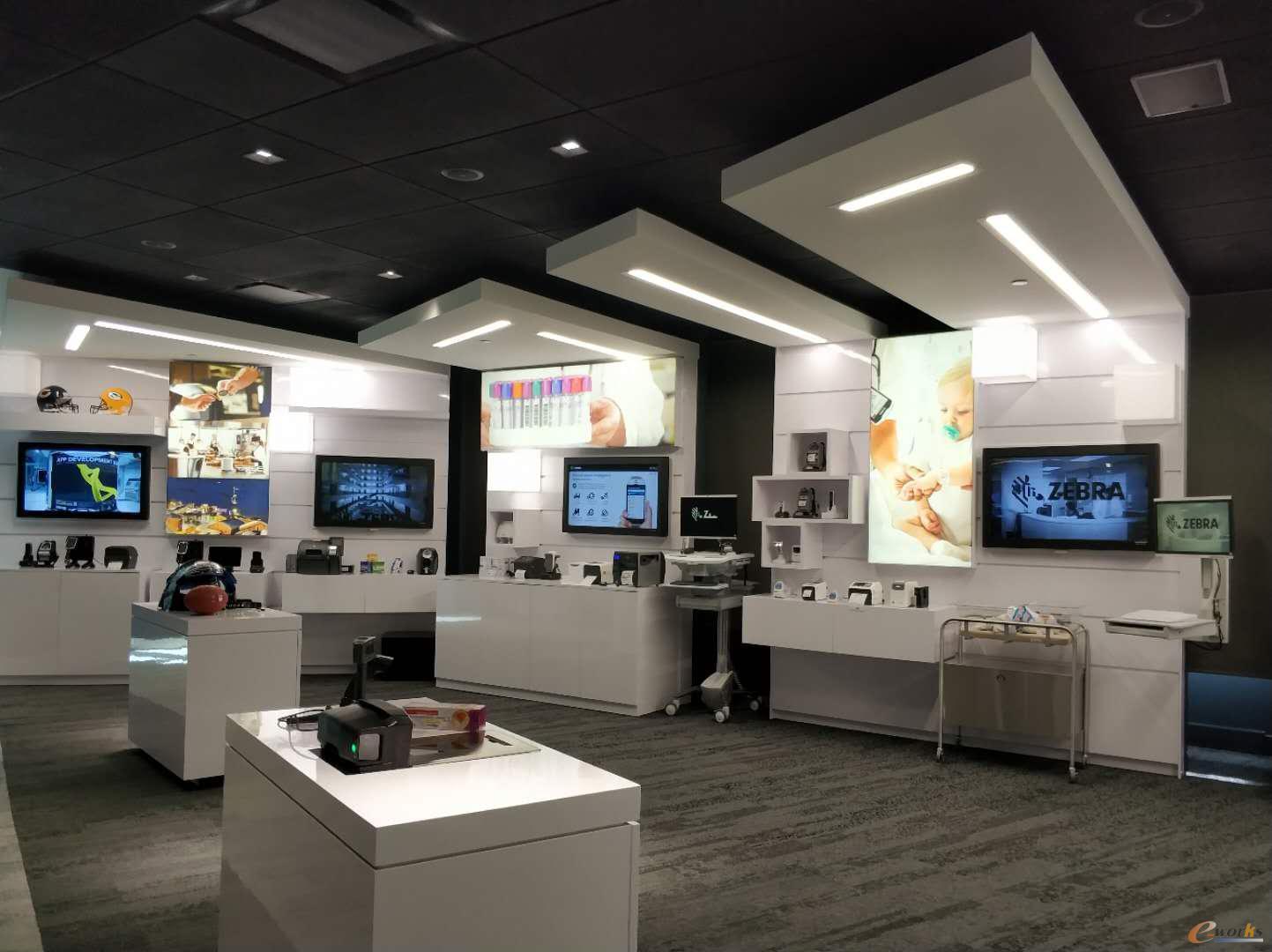 斑马技术公司的体验中心