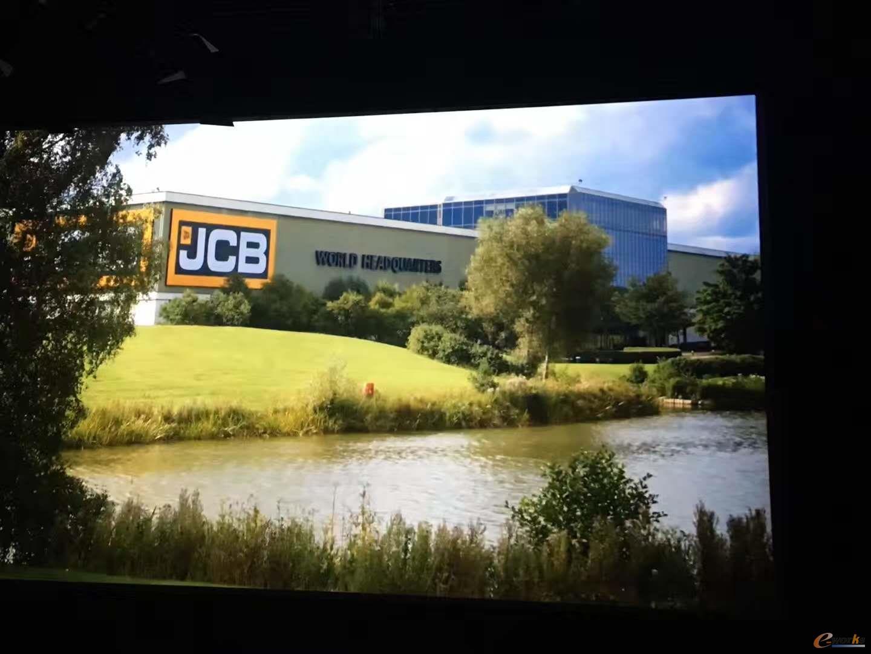 全球著名工程机械和农机制造企业JCB