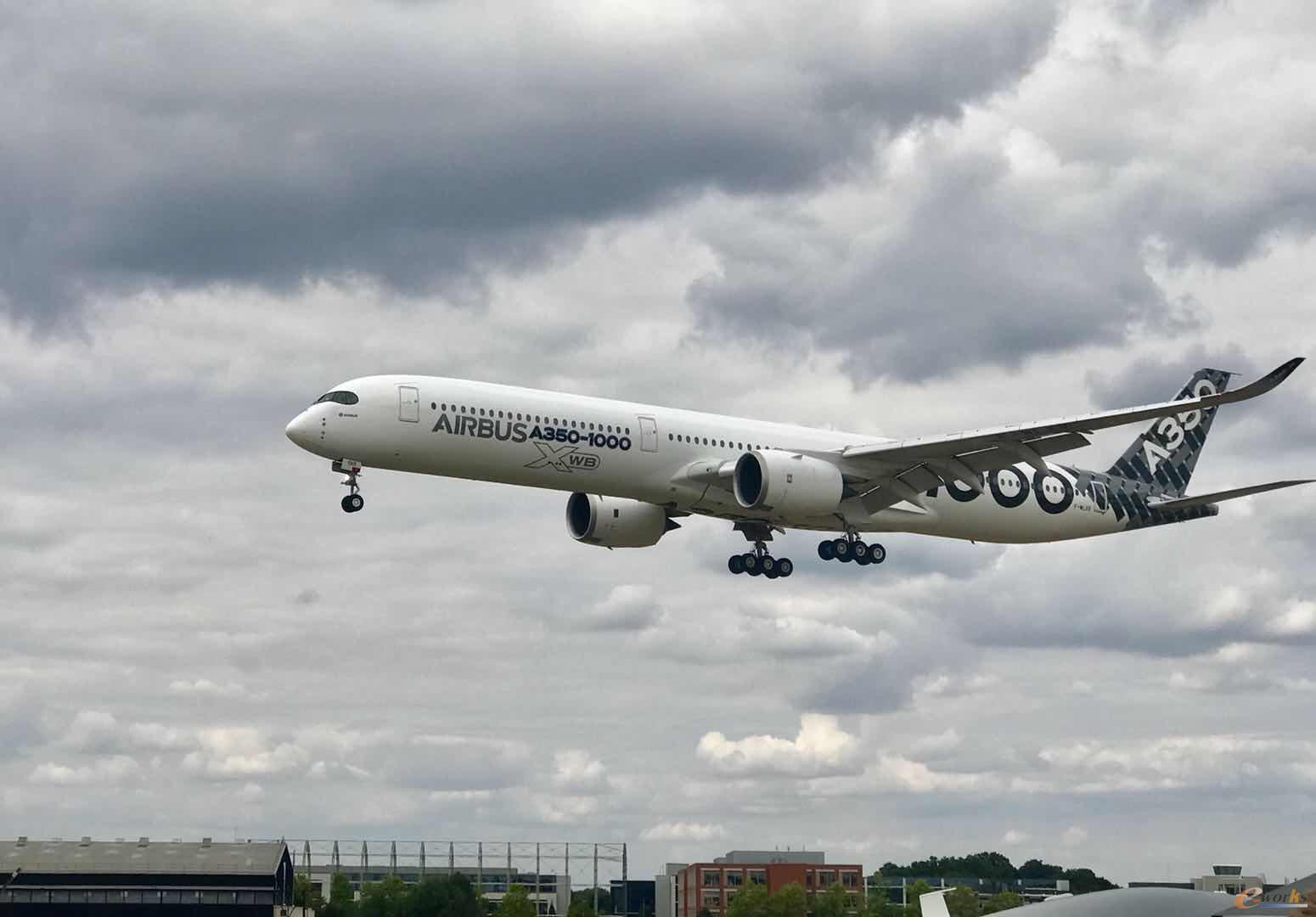 空客最新一代远程宽体飞机A350-1000