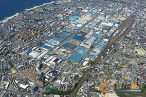 川崎重工总部俯瞰图