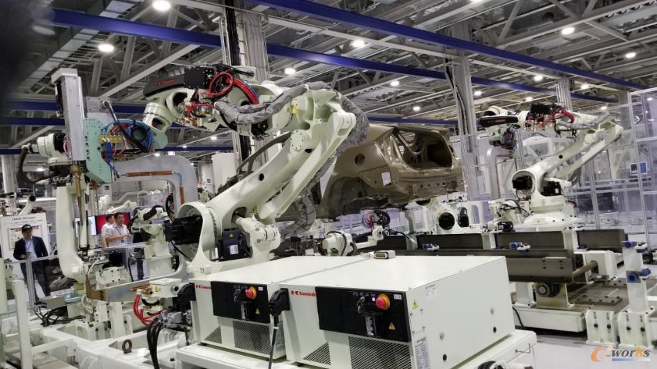摩擦焊机器人