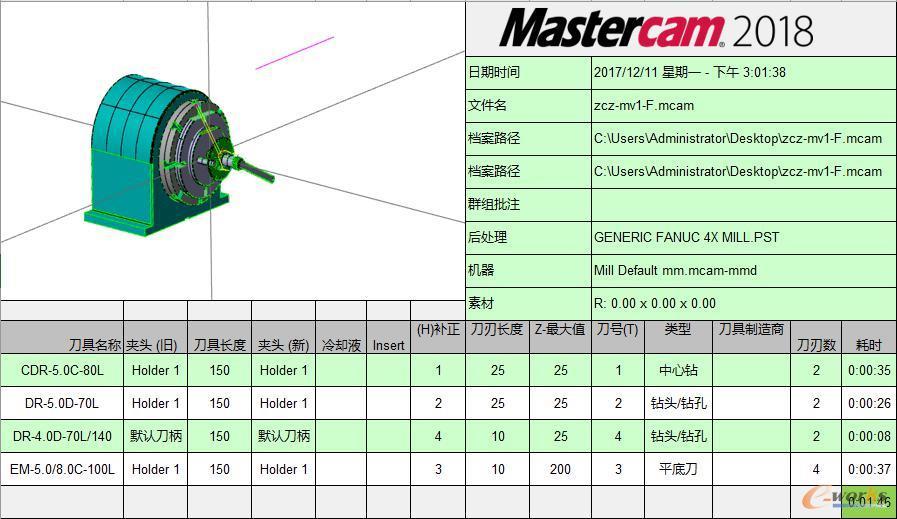 CAM输出现场使用工艺清单表