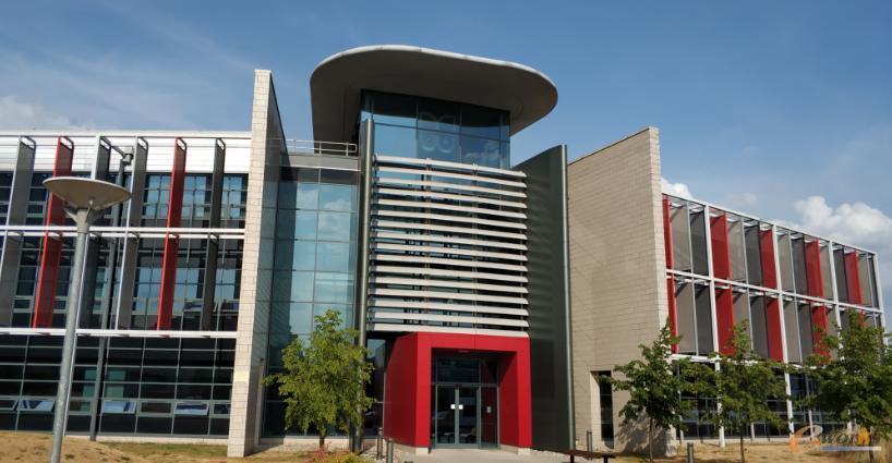 Romax总部的办公大楼