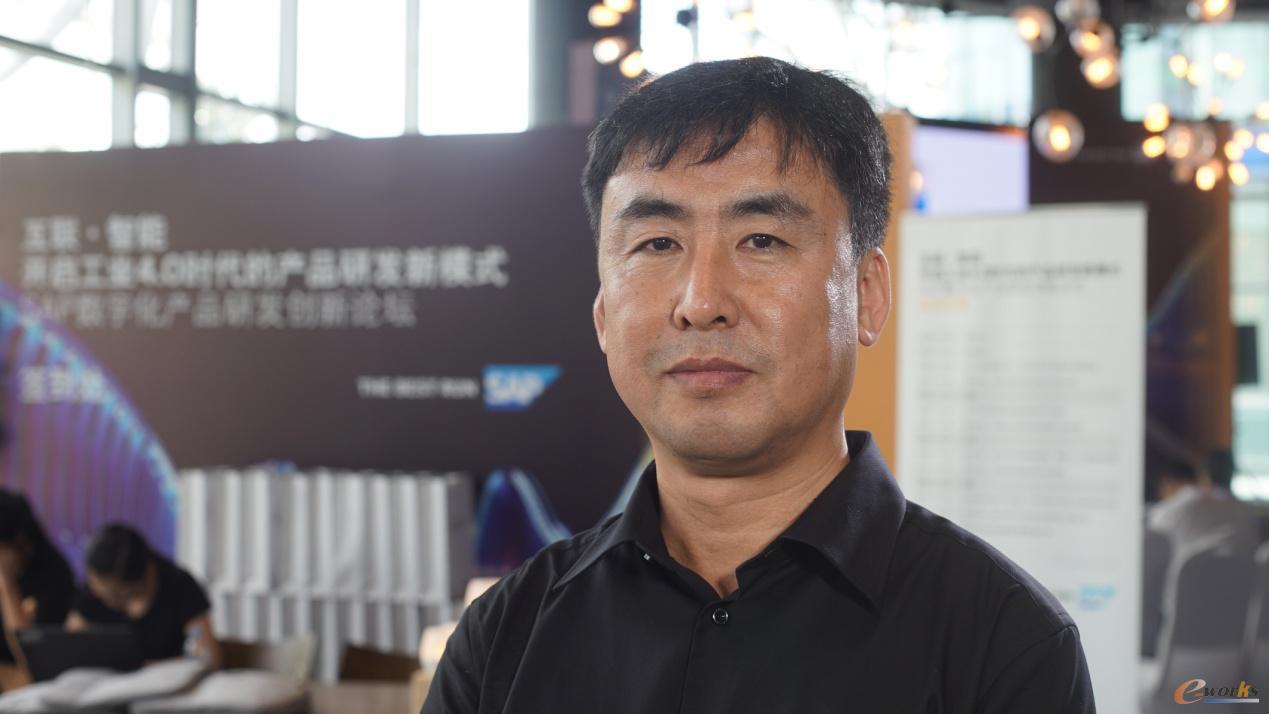 上海脉恩信息科技有限公司副总裁宋玉彬