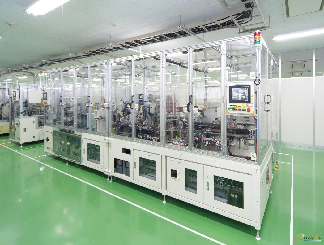 可儿工厂产品组装的柔性自动化单元