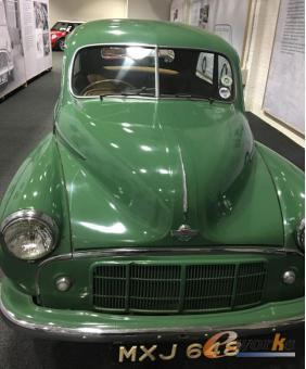 早期使用MORRIS车标的Mini轿车