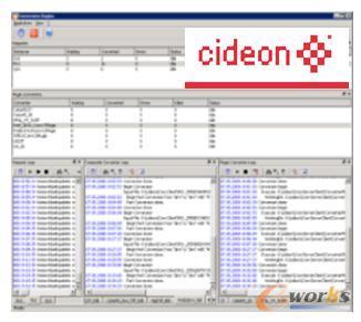 通过CIDEON进行数据转换