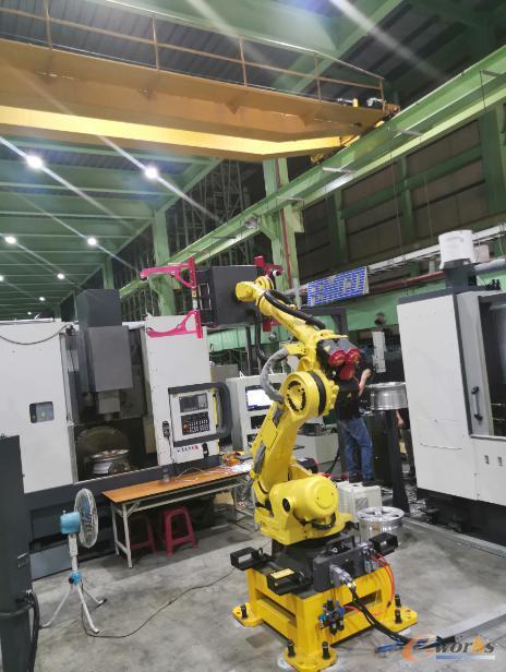 智能化铝轮圈生产线