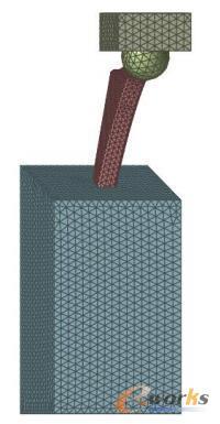 股骨柄网格模型
