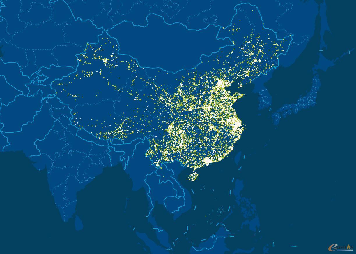 借助汉云平台的大数据分析来反映国家宏观经济、区域经济的晴雨表