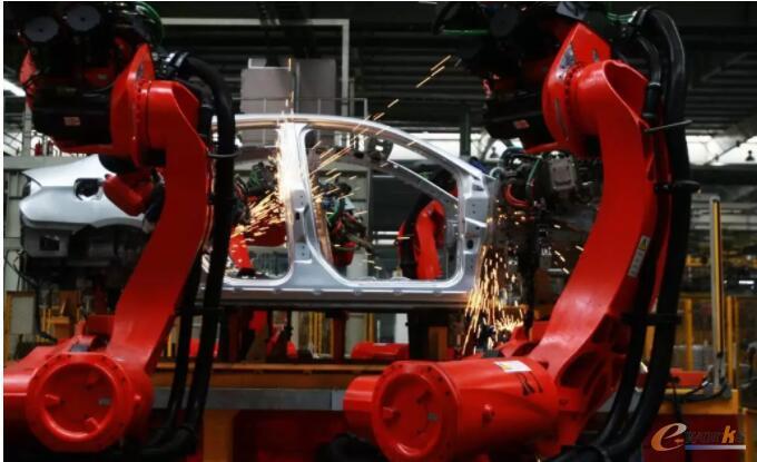 焊装工艺-将车身零部件焊接形成车身总成