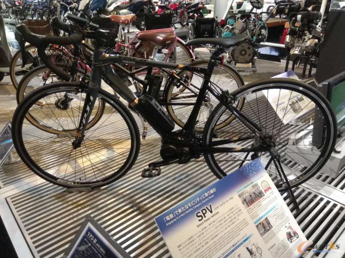 智能电力自行车