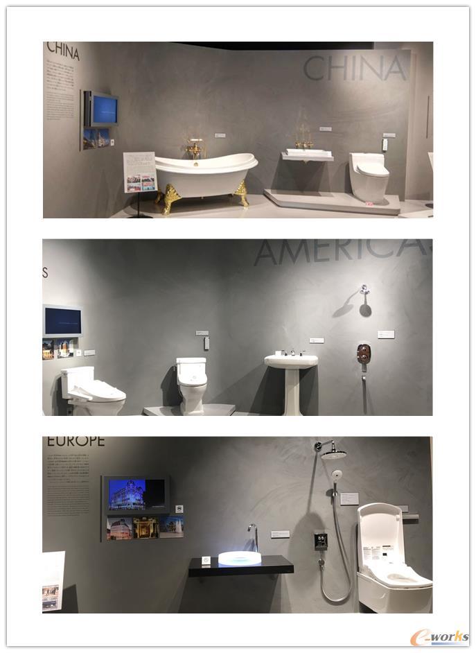 世界展厅产品展示