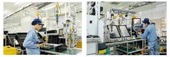 制造可编程控制器和GOT的单元化生产现场
