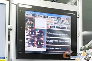 显示器上会显示螺丝固定部位、顺序的指示