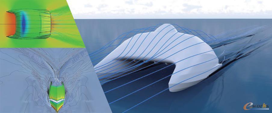 法国A2V公司应用NUMECA FINE/Marine软件进行水动力学数值模拟