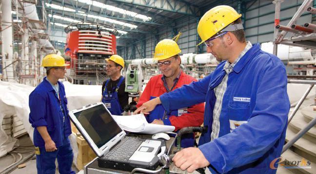 自2012年以来,迈尔造船厂的计量和质量管理部门一直使用几何测量技术作为其质量管理流程的一部分