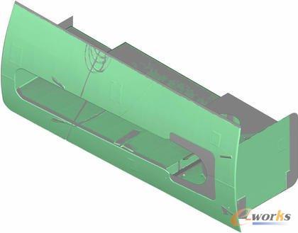 稳定装置的CAD模型